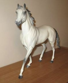 Breyer Chesterfield Resin Model, Beautiful BHR Custom Painted Grey Thoroughbred
