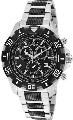 Invicta Watches Mens Specialty Chronograph Stainless Steel Watch