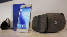 Google lanzó un teléfono un visor de realidad virtual y una gran apuesta - LA NACION (Argentina)