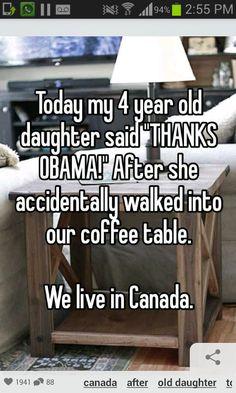 Thanks Obama! (made me LOL)