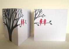 New Linocut Mini Cards