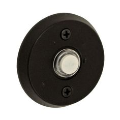 Fusion Hardware B-EL-A4 River Rock Collection Bronze Round Beveled Doorbell - Knobs and Hardware