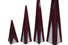 Multicolour kaarsen : Briljant pyramide