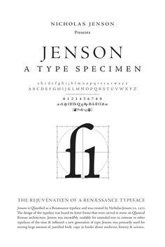 type specimen - Cerca con Google