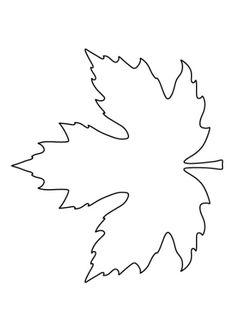 Leaves Template Free Printable, Maple Leaf Template, Free Printables, Art Patterns, Applique Patterns, Pattern Art, Free Pattern, Fall Sewing, Study Help