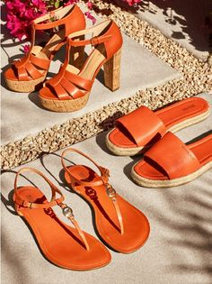 Orange Michael Kors http://shoecommittee.com/blog/2017/orange-mk