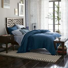 West Elm Circle Quilt: my bedroom needs this!
