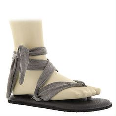 Yoga sandals! Sanuk Yoga Slinged Up (Women's), perfect for to and from the gym. -Becky's pick.