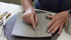 A Good Scratch: Kathy King Gives Helpful Tips For Using Sgraffito in Your Work Ceramic Tools, Ceramic Decor, Ceramic Clay, Ceramic Pottery, Slab Pottery, Ceramic Techniques, Pottery Techniques, Pottery Tools, Pottery Classes