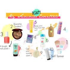 My Summer Beauty Essentials :)