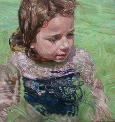 Laura Sanders - Noon, Oil on canvas