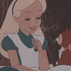 icon - alice in wonderland - Speak - Cartoon Icons, Cartoon Memes, Cute Cartoon, Dark Disney, Cute Disney, Disney Art, Disney Aesthetic, Aesthetic Anime, Disney Wallpaper