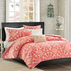Monica Mini Comforter Set with 2 Decor Pillows | Shopko.com
