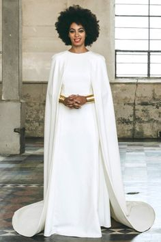 Solange looked like a queen on her wedding day   Essence.com