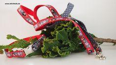 Halsband oder Leine oder Set Mei Ling von stitchbully.de für Hunde auf DaWanda.com