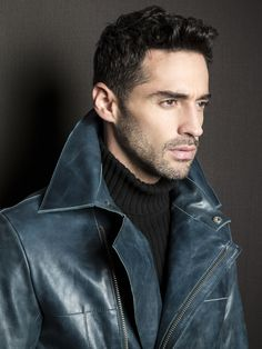 by La Marque Collection #leather #jacket #men #fall #trench #fw13 #coat