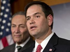 Traitor Rubio: 'Legalize Illegal Immigrants So They Can Fund Border Security'. Also to Latino groups in Spanish - 'amnesty will come first':   http://www.breitbart.com/Big-Government/2013/06/14/Rubio-Legalize-Illegal-Immigrants-so-They-Can-Fund-Border-Security