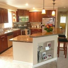 1000 images about remodel diy kitchen on pinterest Bi level house remodel