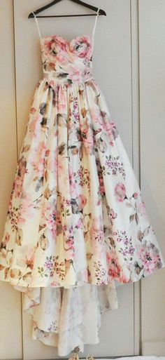 Prom Dress - I love to hang a favourite dress up on my door hook just to look at just to get that feminine frisson as I go about the house!