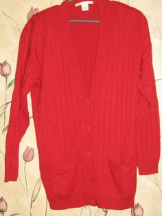 Brooks Brothers Womens Sweater Silk Blend Cardigan Coral Pink Size ...