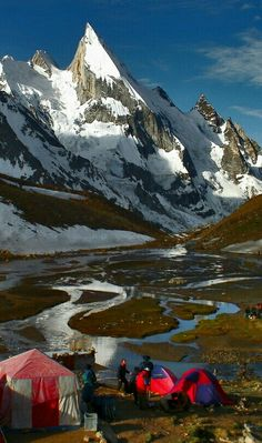 Laila Peak is a mountain in Hushe Valley near Gondogoro Glacier in the Karakoram range. Located in Gilgit-Baltistan, Pakistan, it has an elevation of 6,096 metres.