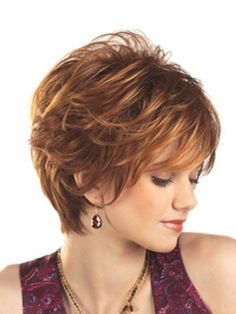 Short Straight Synthetic Wig