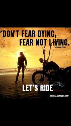 Yes! Rain or Shine, Warm or Cold.. Let's Ride!