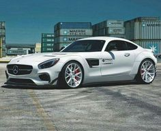 Mercedes GT whit Vossen Wheels and Kit Aerodinamic Prior-Design - Spain Mercedes Benz Amg, Mercedes Auto, Custom Mercedes, Benz Sls, Maserati, Lamborghini, Supercars, Bentley Continental Gt Speed, Cars Vintage