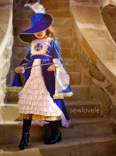 Sewlovele: Musketeer Girl