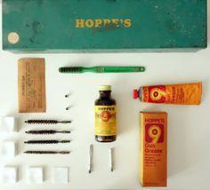 Vintage Hoppes Gun Cleaning Kit - #art #homedecor