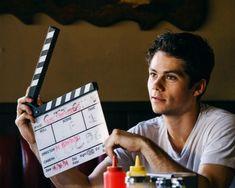 Dylan on set Dylan O'brien, Teen Wolf Dylan, Teen Wolf Stiles, Teen Wolf Cast, Tony Stark Steve Rogers, Steve And Tony, Teen Wolf Memes, Dylan Sprayberry, O Brian