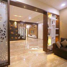 Bedroom Bed Design, Modern Bedroom Design, Home Room Design, Modern Kitchen Design, Home Interior Design, Kitchen Interior, Living Room Partition Design, Room Partition Designs, Ceiling Design Living Room