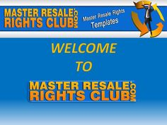 http://www.masterresalerightsclub.com/  The benefits of joining our membership club are immediate. Once you join, you'll gain instant access to over 1500 products that you can download.  What type of products will you be able to access?  eBooks Software applications Desktop generator tools Video how-to's Server hosted software scripts
