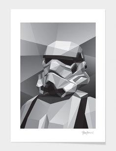 """Storm Trooper"" - Numbered Art Print by Filip Peraić on Curioos"