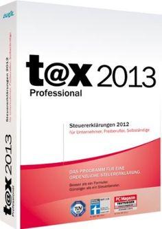 t@x 2013 Professional (für Steuerjahr 2012)