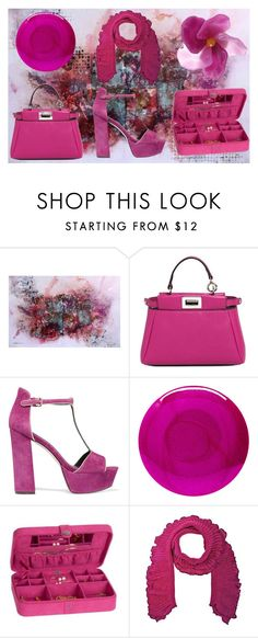 """magenta boutique"" by sum1smuse ❤ liked on Polyvore featuring NOVICA, Fendi, Rebecca Minkoff, Deborah Lippmann, Ross-Simons and French Connection"