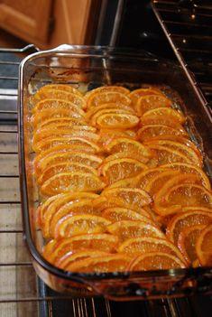 roasting navel oranges