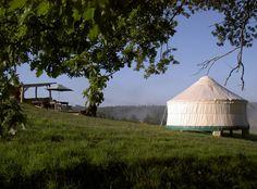 Luxury Eco Yurts in the Dordogne