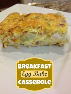 This Gal Cooks: Breakfast Egg Bake Casserole