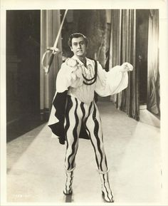 "Stewart Granger   ""Scaramouche"" (1952) - Costume designer : Gile Steele"