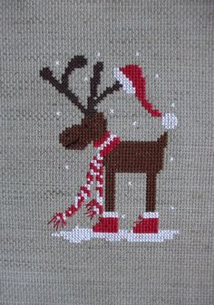 Beginning cross stitch embroidery tips - embroidery patterns - christmas - . Beginning cross stitch embroidery tips – embroidery patterns – christmas – Cross Stitch Christmas Ornaments, Xmas Cross Stitch, Cross Stitch Love, Cross Stitch Cards, Christmas Embroidery, Cross Stitch Designs, Cross Stitching, Cross Stitch Embroidery, Embroidery Patterns