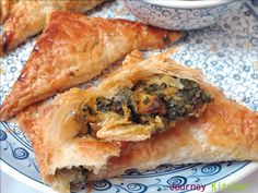 Journey Kitchen: Palak Paneer and Cheddar Puff Pastry
