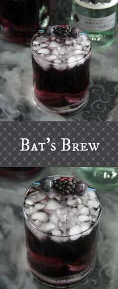This Bat's Brew is a must for your Halloween party this year! This Bat's Brew is a must for your Halloween party this year! Halloween Cocktails, Halloween Desserts, Theme Halloween, Halloween Food For Party, Holiday Drinks, Halloween Treats, Halloween Recipe, Halloween Cupcakes, Halloween Diy