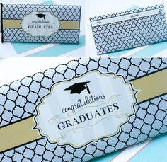 FREE PRINTABLE - Congratulations Grad Giant Candy Bar Wrapper!!!