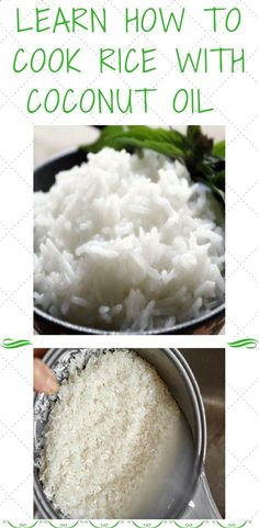 Coconut oil can be used for all kinds of things, from beauty uses to cooking. Today, we will speak more about the latter use. This versatile ingredient, when combined with rice, can make an unbelievably healthy meal. This cooking method is so unique and powerful that it will absorb half of the calor...
