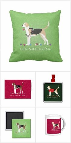 American Foxhound and English Foxhound Christmas Designs English Foxhound, American Foxhound, Blue Lacy, The Fox And The Hound, Dog Boarding, Running, Dogs, Fun, Christmas