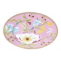 Pip Studio Chinese Garden 17cm Plate Pink