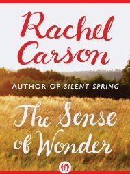 Pioneering Biologist and Writer Rachel Carson on Wonder, Parenting, and Why It Is More Important to Feel Than to Know – Brain Pickings