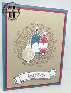 Another Stamp Off Color Challenge With Moroccan Nights. Eid Cards, Off Colour, Stampin Up Cards, Moroccan, Wordpress, Stamps, Challenges, Elegant, Night