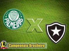BotafogoDePrimeira: Com objetivos distintos, Palmeiras e Botafogo duel...